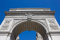 Washington Square Arch Stock Images