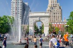 Washington Square Arch, New York City Stock Photo