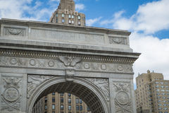 Washington Square arch, New York City Royalty Free Stock Image