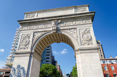 Washington Square Arch Royalty Free Stock Photos