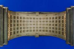 Washington Square Arch at Washington Square Park Royalty Free Stock Images