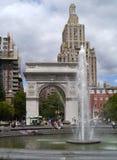 Washington Square fountain Stock Photos