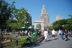 Washington square - New York City Royalty Free Stock Photos