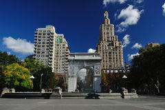 Washington square park Stock Image