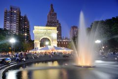 Washington Square Park Royalty Free Stock Image
