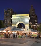 Washington Square Park Stock Photo