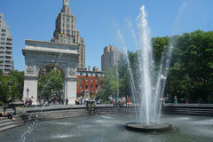 Washington Square Park in New York City Royalty Free Stock Photography