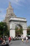 Washington Square Park, Manhattan Stock Photo