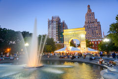 Washington Square Park Royalty Free Stock Images