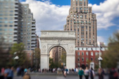 Washington Square Park New York City Stock Photo