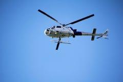Washington State Border Patrol Helicopter Imagem de Stock