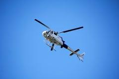 Washington State Border Patrol Helicopter royalty-vrije stock afbeelding