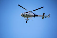 Washington State Border Patrol Helicopter Stock Image