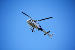 Washington State Border Patrol Helicopter Royalty Free Stock Image