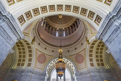 Washington State Capitol Building Rotunda Stock Photo