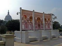 Washington State Capitol com vista da Biblioteca do Congresso em Washington D C , 2008 foto de stock royalty free