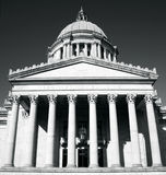 Washington State Capitol. Front. Washington State Capitol, Olympia, WA Royalty Free Stock Photos