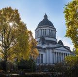 Washington State Capitol nella caduta Immagini Stock Libere da Diritti
