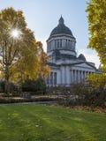 Washington State Capitol nella caduta Immagine Stock Libera da Diritti