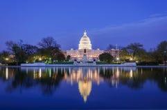 Washington State Capitol. Washington capitol in the night Royalty Free Stock Photo