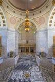 Washington State Capitol Rotunda Chandelier foto de archivo