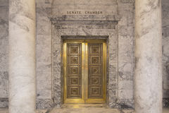 Washington State Capitol Senate Chamber Fotografie Stock
