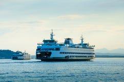 Washington State Ferries Imágenes de archivo libres de regalías