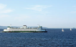 Washington State Ferry Royalty Free Stock Image
