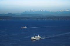 Washington state ferry boat Royalty Free Stock Image