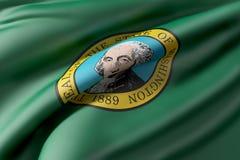 Washington State flag Stock Photo