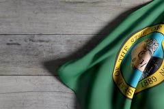 Washington State flag Royalty Free Stock Images