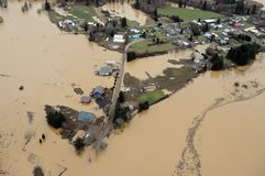 Washington State Flood Royalty Free Stock Image