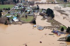 Washington State Flood foto de stock royalty free