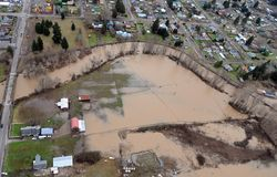 Washington State Flood Stock Photos