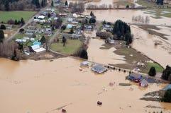 Washington State Flood Royalty Free Stock Photo