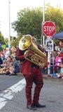 Washington State mångfaldmusikband Arkivfoto