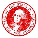 Washington State Seal Stamp Photo libre de droits