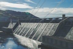 Washington State. Washington - Grand Coulee Dam On The Columbia River Royalty Free Stock Photo