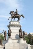 Washington statue. Statue in richmond virginia Stock Photos