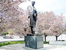 Washington Statue of Tomas Masaryk 2010 Royalty Free Stock Photography