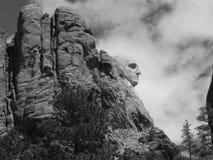 Washington su Rushmore Immagini Stock