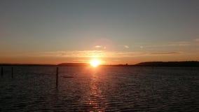 Washington Sunset fotografía de archivo libre de regalías