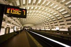 Washington, túnel del metro de la C.C. Imagen de archivo libre de regalías