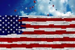 WASHINGTON, U.S.A., ottobre 2017 Presidente Trump promette ancora di costruire la parete per proteggere l'America dagli immigrati Fotografia Stock Libera da Diritti