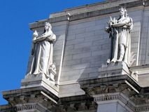 Washington Union Station-beeldhouwwerk 2013 royalty-vrije stock foto