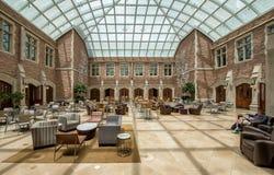Washington University Law Atrium Royalty Free Stock Images