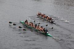 Washington University and RIT  Women's Crew Stock Image