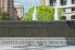 Washington us navy memorial Stock Images