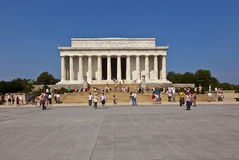 Lincoln Memorial in Washington D.C. Royalty Free Stock Photo