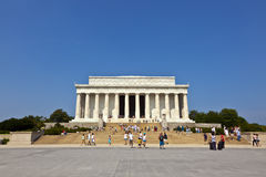 Lincoln Memorial in Washington D.C. Stock Images